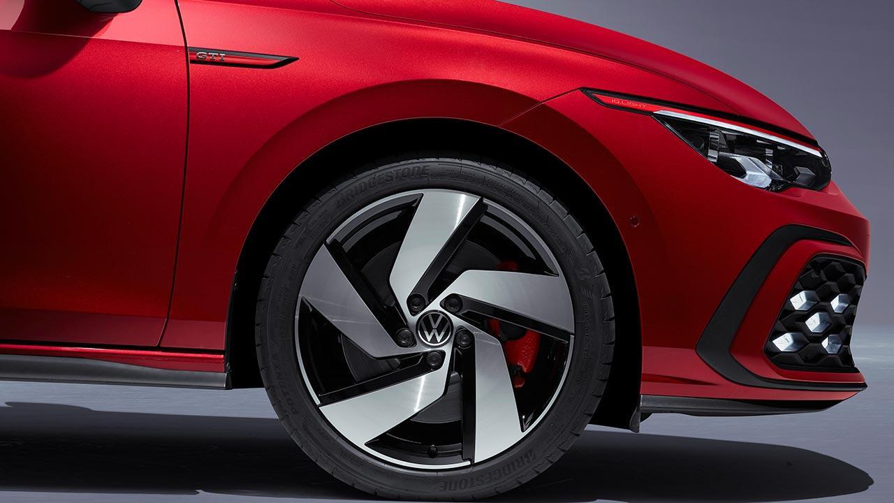 Der neue Golf GTI - Generation 8 - Alufelgen