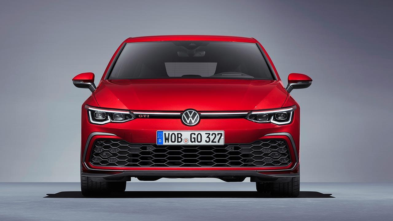 Der neue Golf GTI - Generation 8 - Frontansicht