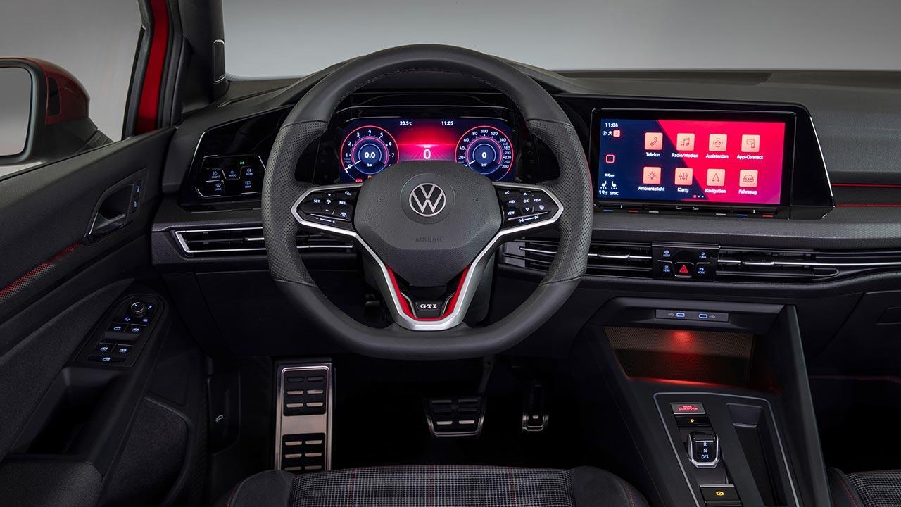 Der neue Golf GTI - Generation 8 - Cockpit