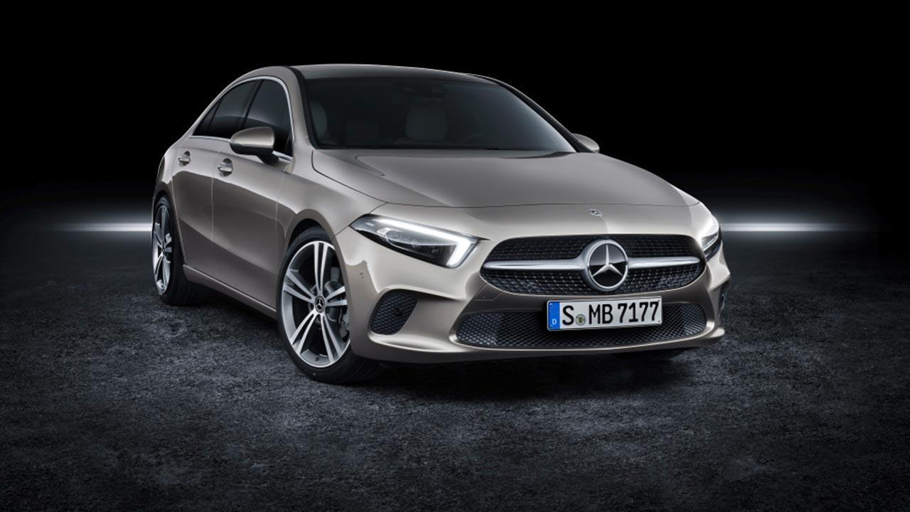 Mercedes A-Klasse  - Frontansicht