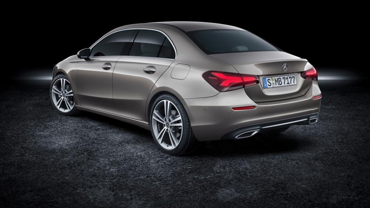 Mercedes A-Klasse - Seitenansicht