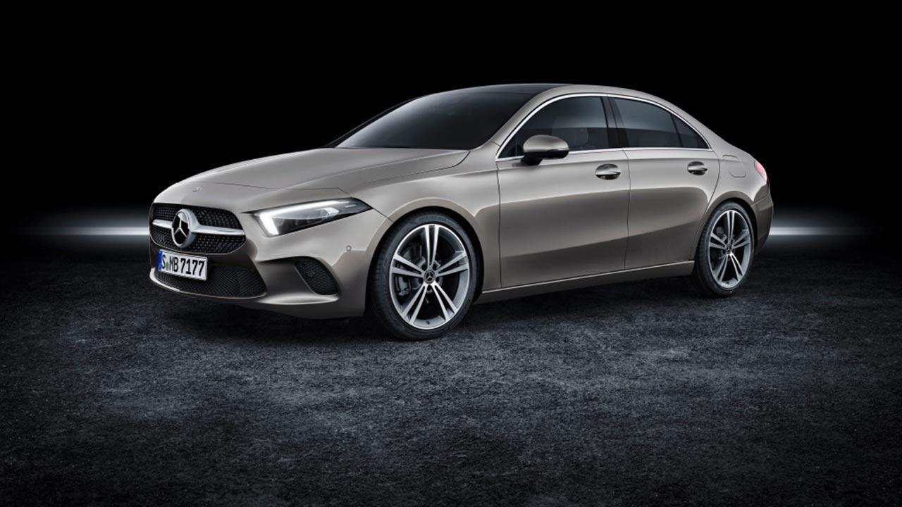 Mercedes A-Klasse - von Vorne