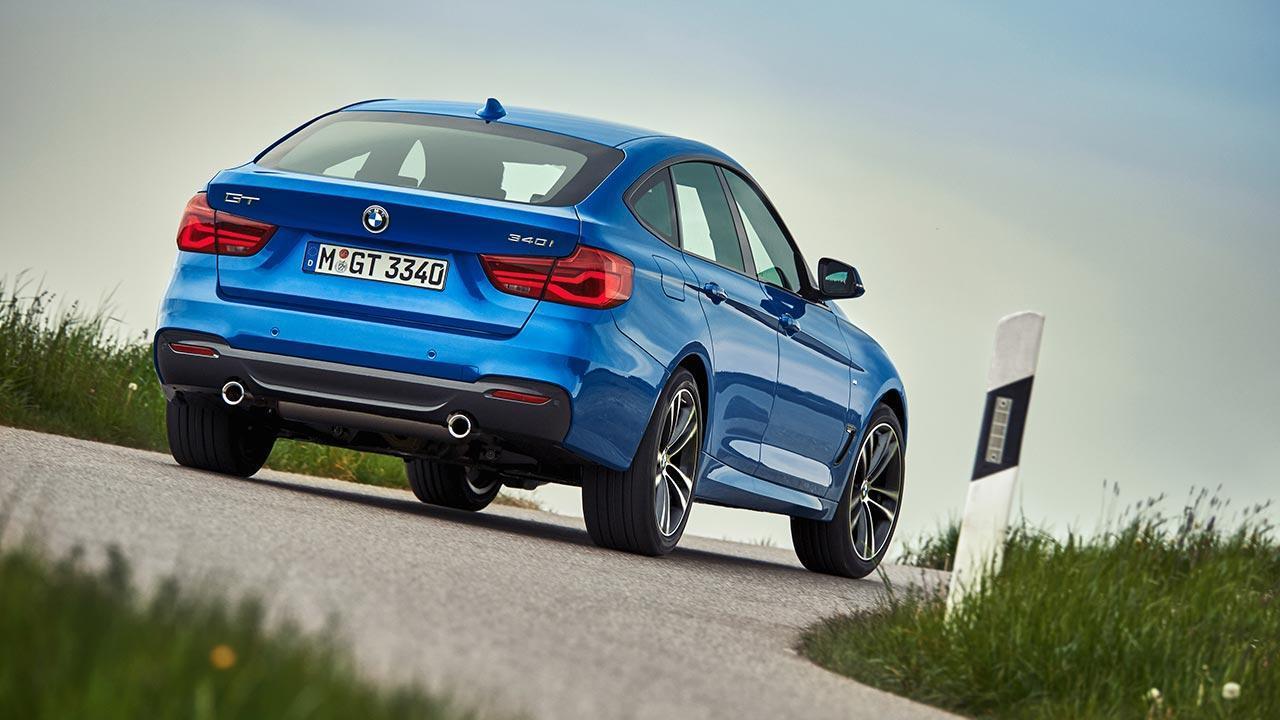 BMW 3er Grand Turismo - Heckansicht