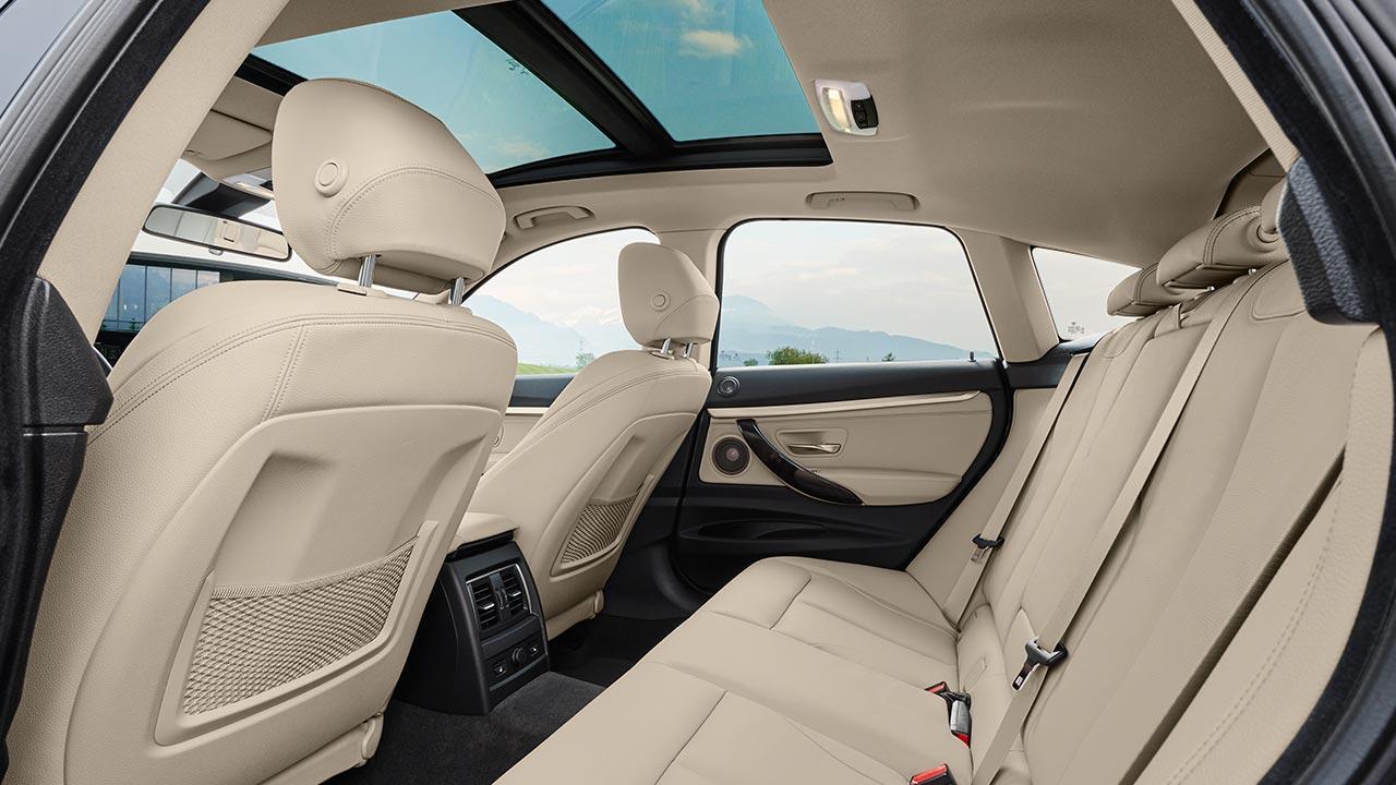 BMW 3er Grand Turismo - Rücksitze