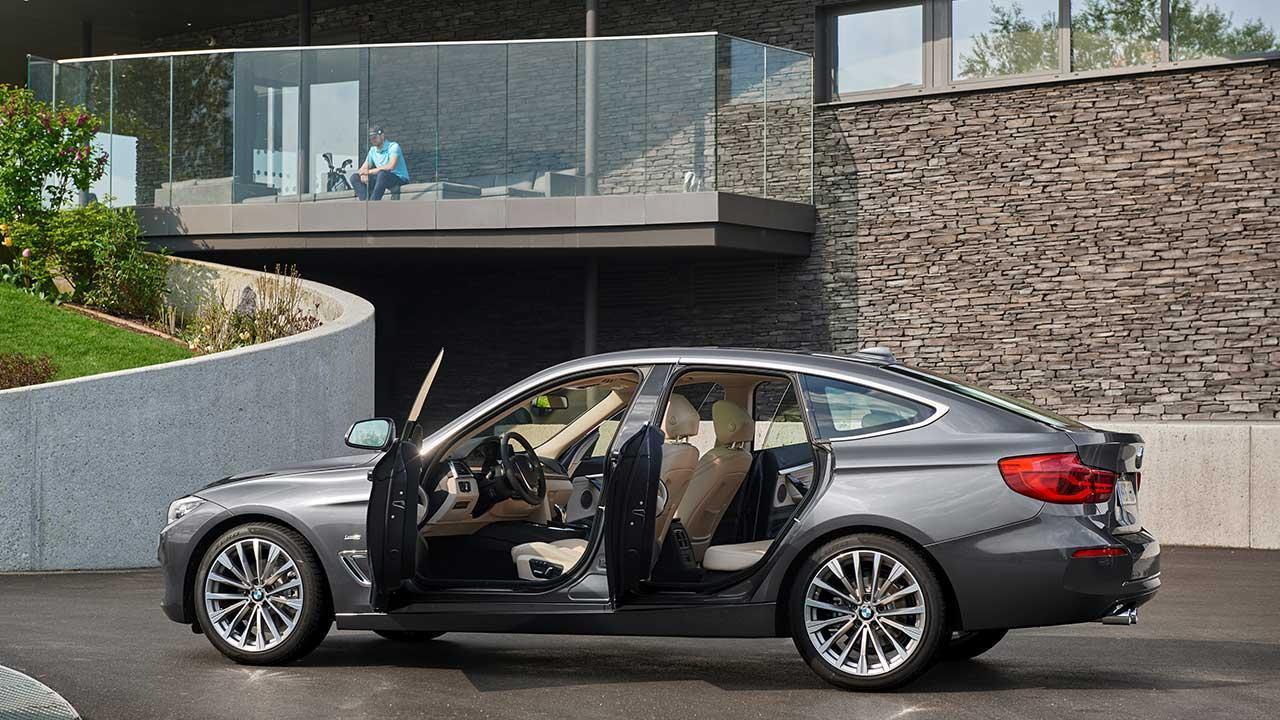 BMW 3er Grand Turismo - mit offenen Türen