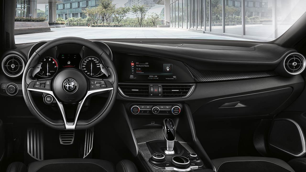 Alfa Romeo Giulia - Cockpit