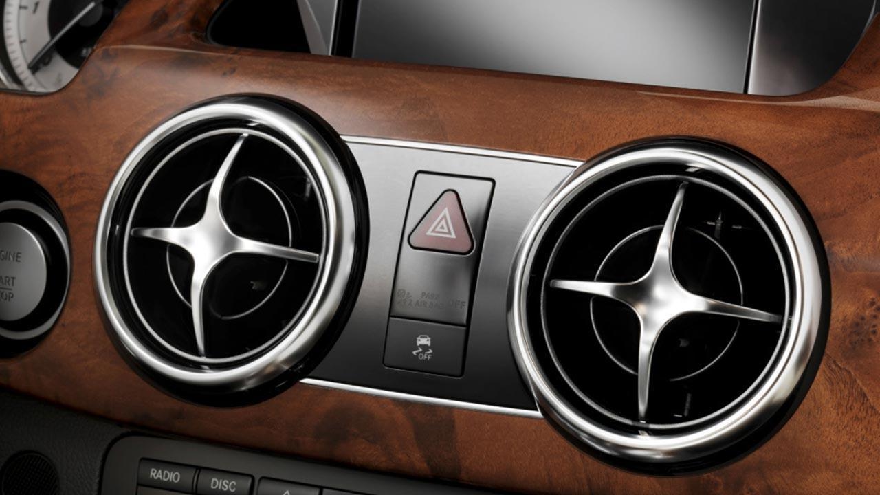Mercedes-Benz GLK - Armaturenbrett