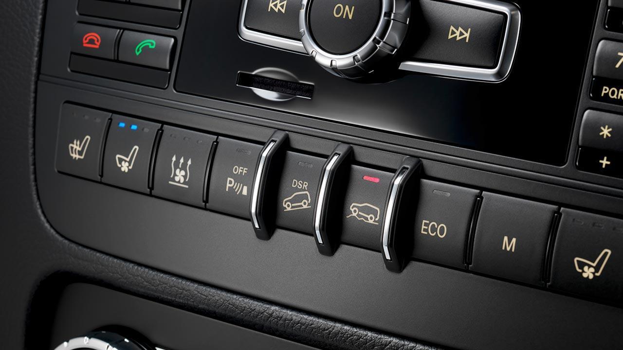 Mercedes-Benz GLK - Steuerung