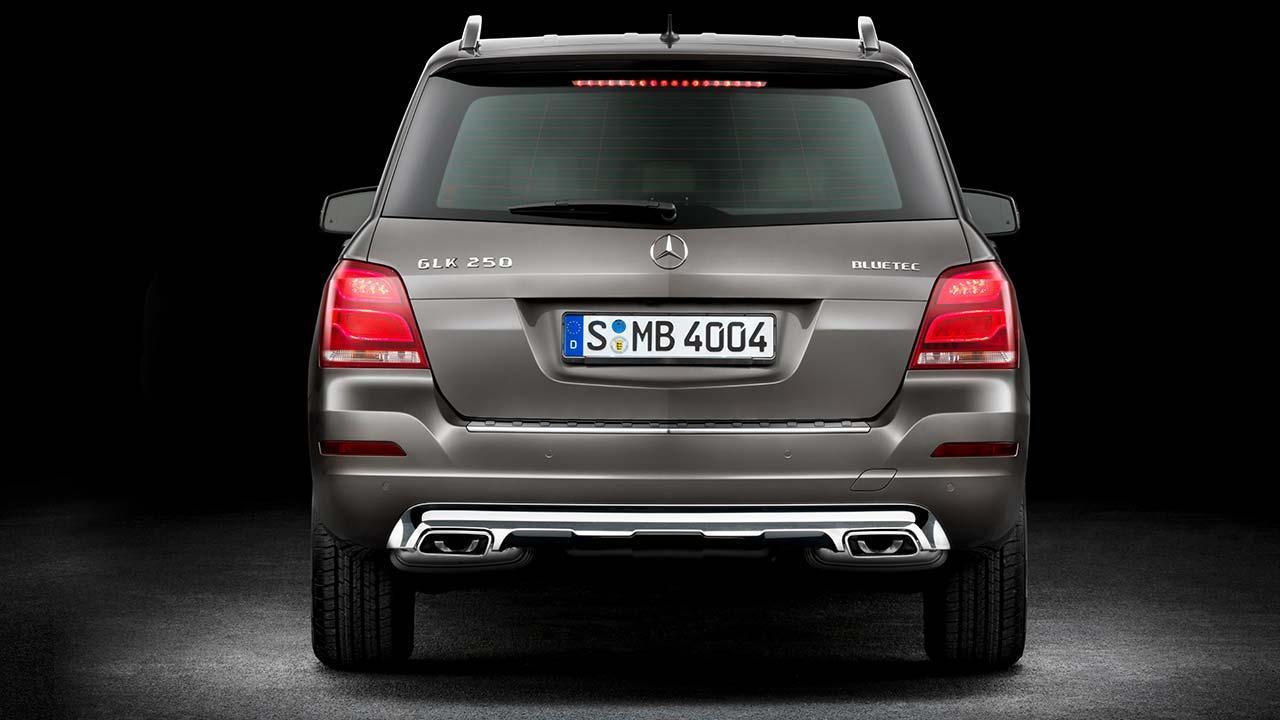 Mercedes-Benz GLK - Heckansicht