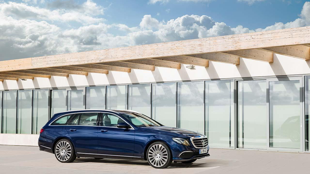 Mercedes-Benz E-Klasse T-Modell - Seitenansicht