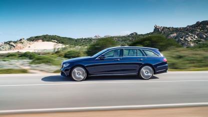 Das neue E-Klasse T-Modell von Mercedes-Benz