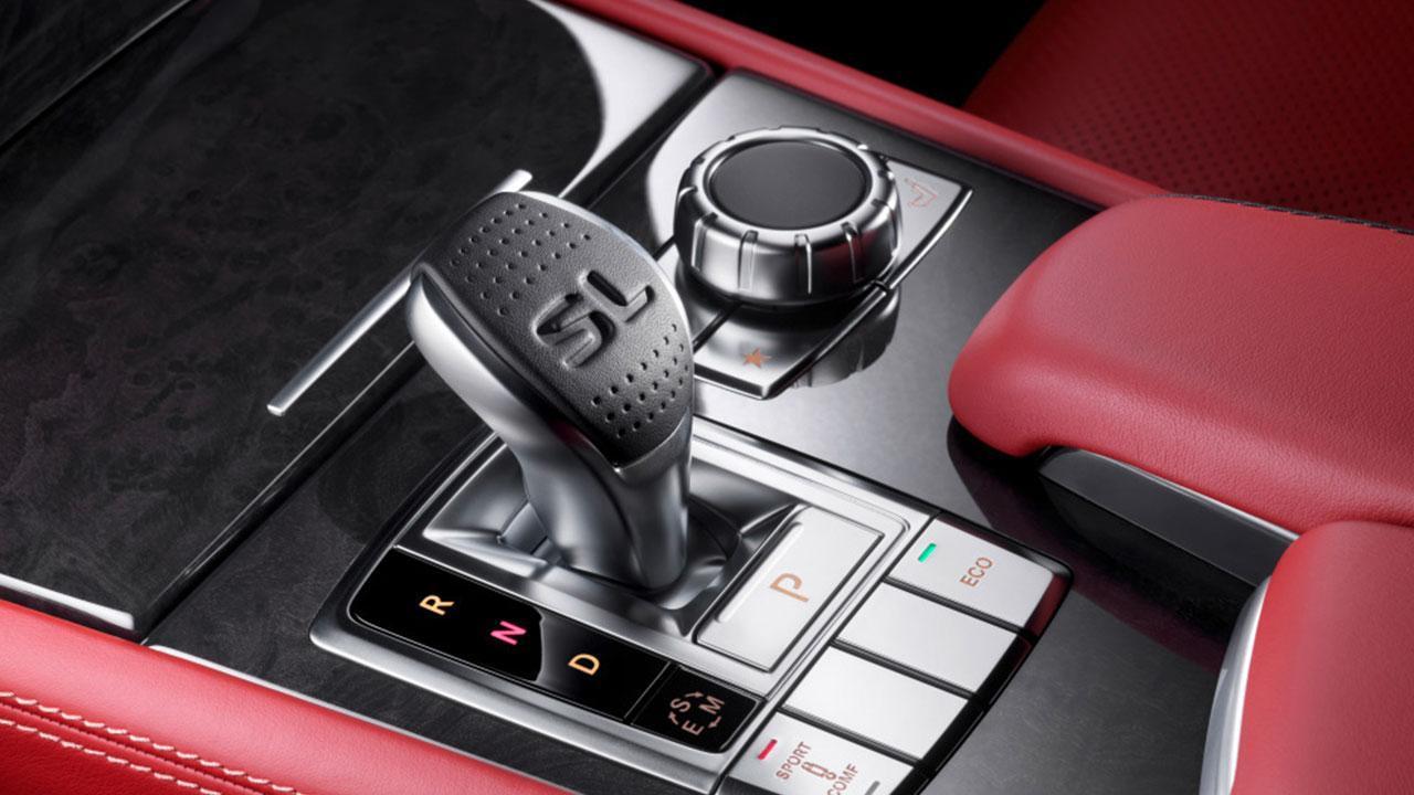Mercedes-Benz SL-Klasse - Schaltkonsole
