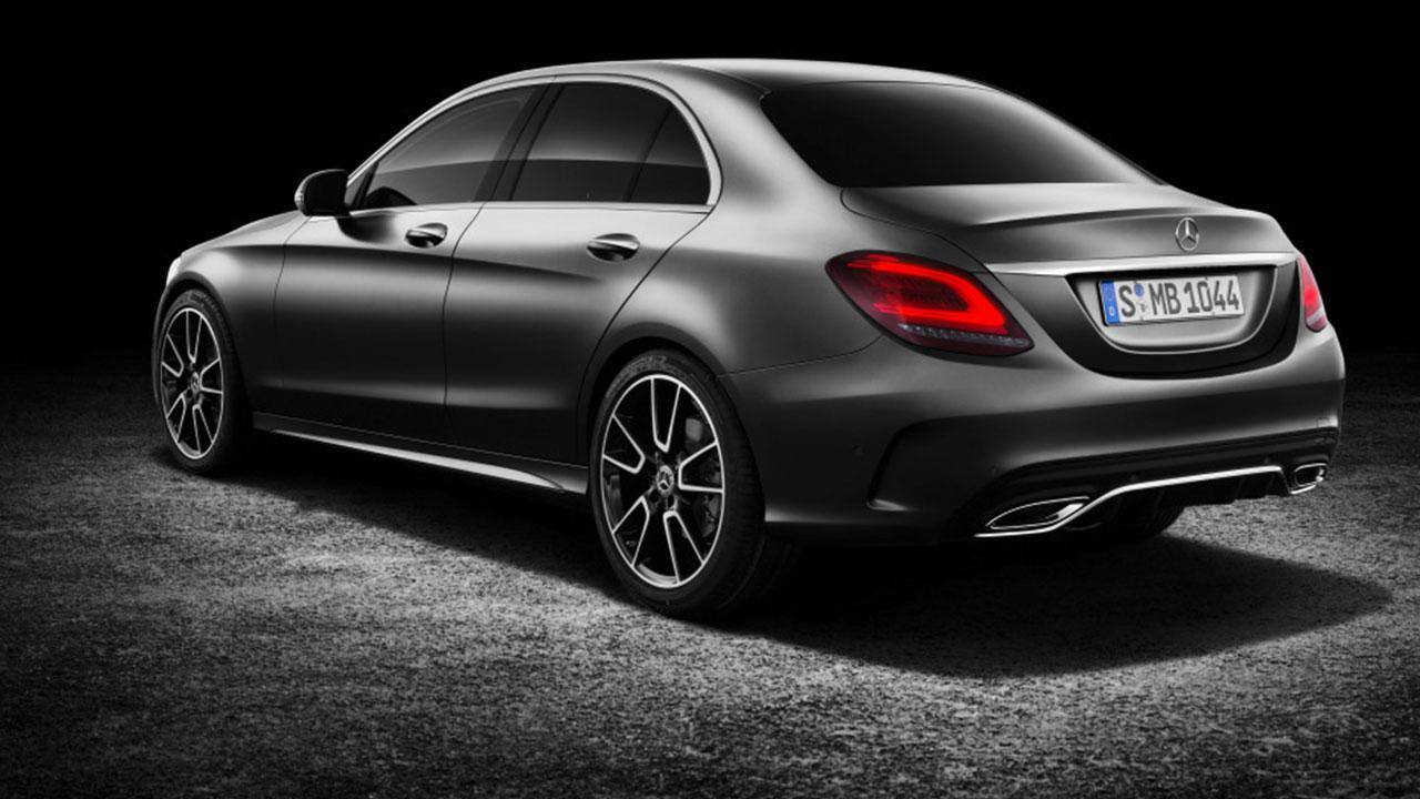 Mercedes-Benz C-Klasse - Heckansicht