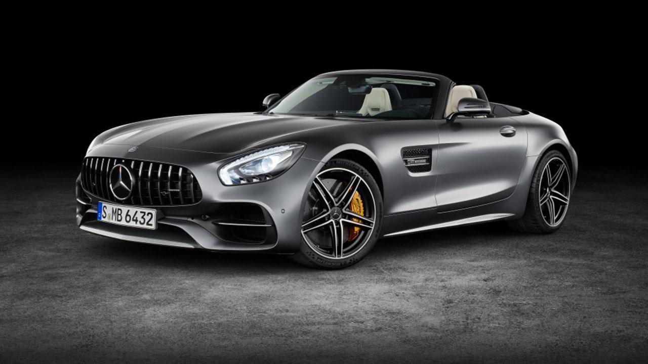 Mercedes-Benz AMG GT Roadster - Seitenansicht