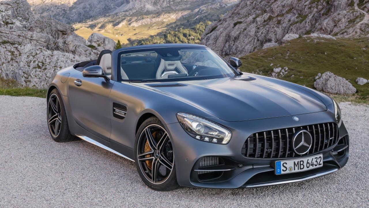 Mercedes-Benz AMG GT Roadster - Frontansicht
