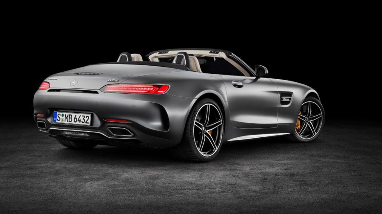 Mercedes-Benz AMG GT Roadster - Heckansicht