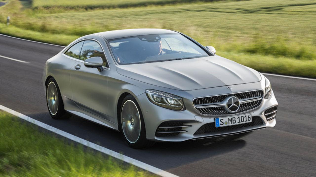 Mercedes-Benz - S-Klasse Coupé test