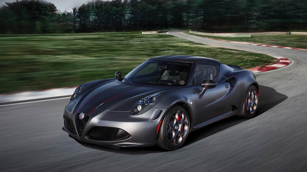Alfa Romeo 4C - Frontansicht