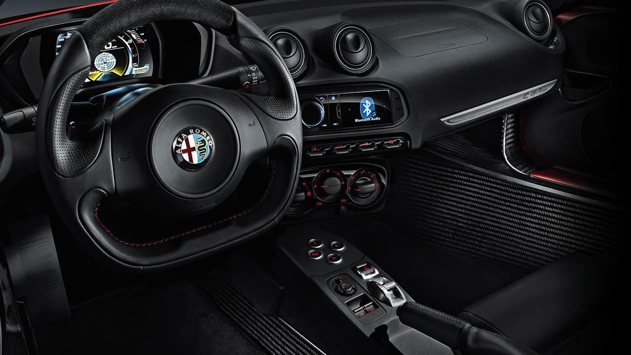 Alfa Romeo 4C - Cockpit