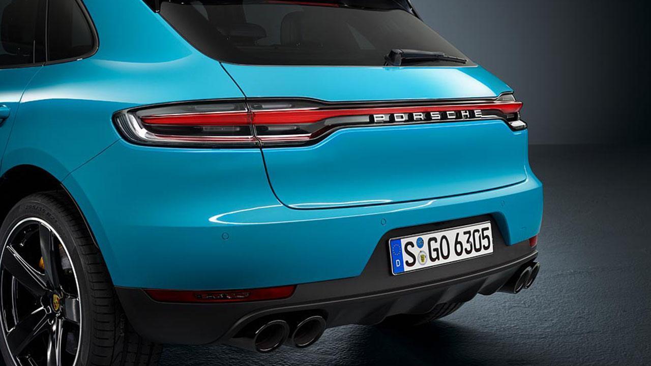 Porsche Macan 2018 - Rückansicht