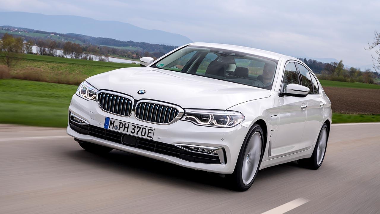 BMW 530e iPerformance - Frontansicht