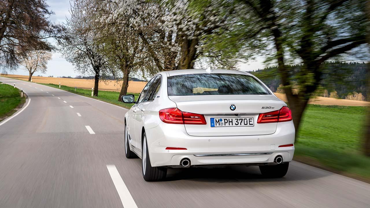 BMW 530e iPerformance - Heckansicht