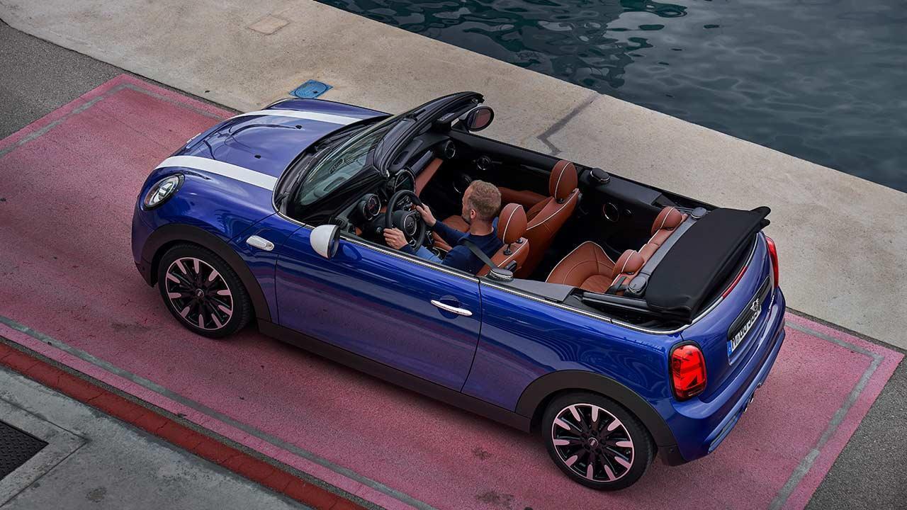 MINI 5-Türer, 3 Türer oder Cabrio - von oben