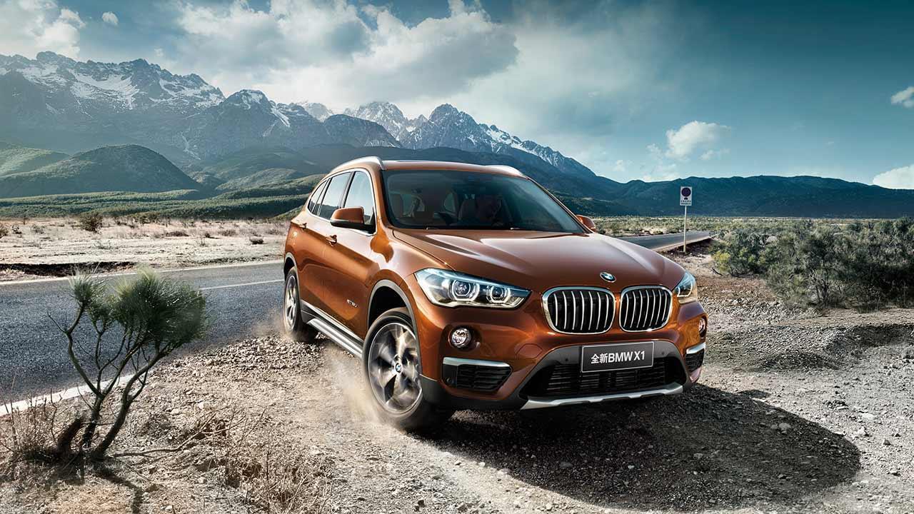BMW X1 Langversion - Frontansicht