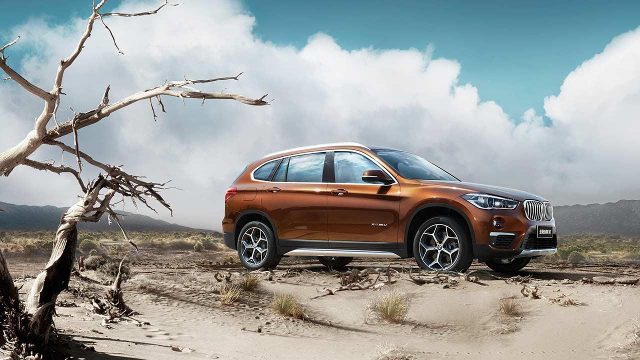 BMW X1 Langversion 2016 - Seitenansicht