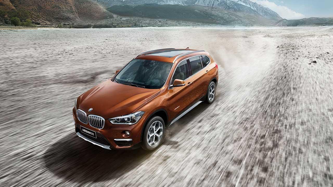 BMW X1 Langversion - Ansicht von oben