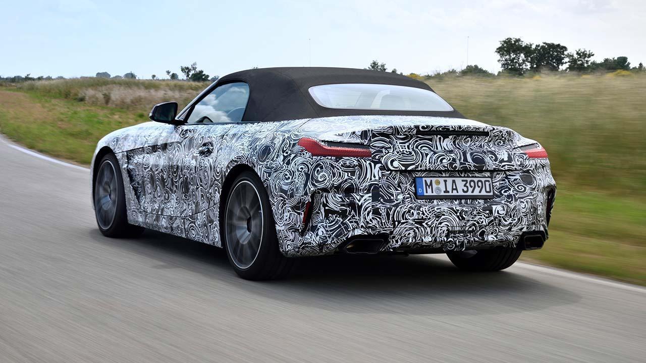 BMW Z4 2018 - von links hinten