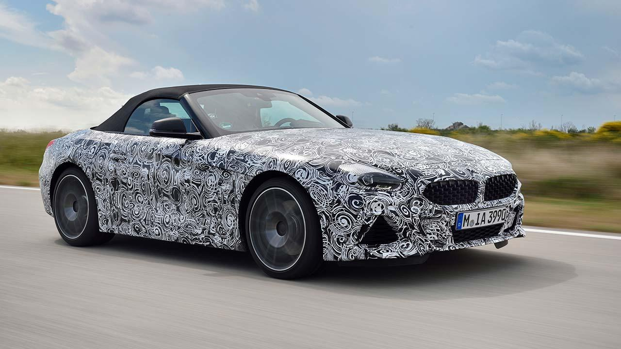 BMW Z4 2018 - Frontansicht