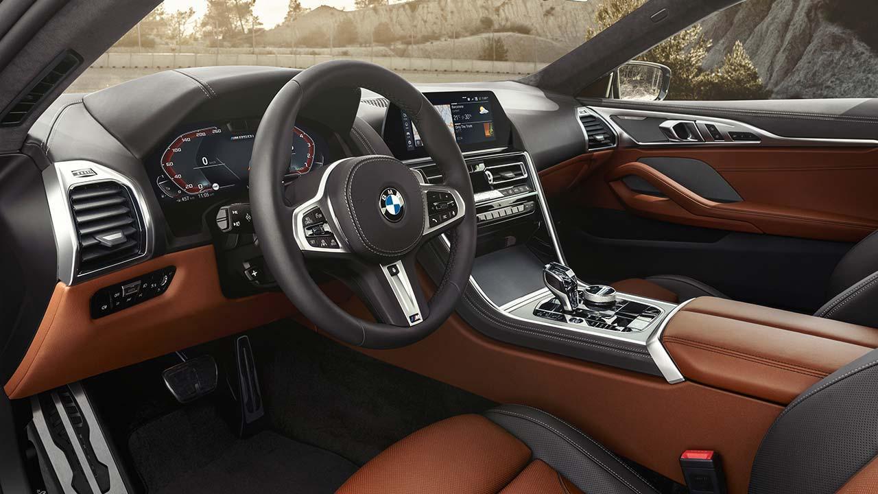 BMW 8er Coupé 2018 - Cockpit