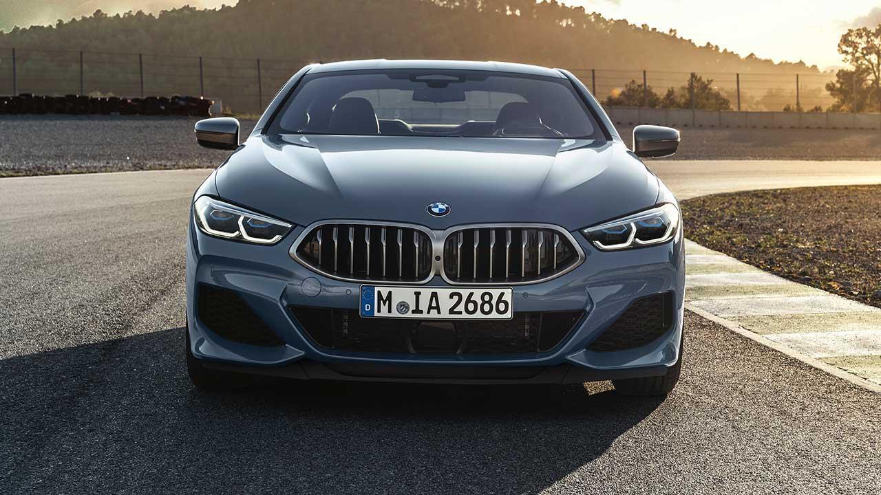 BMW 8er Coupé 2018 - Frontansicht