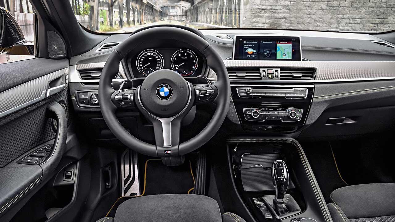 BMW X2 2017 - Cockpit