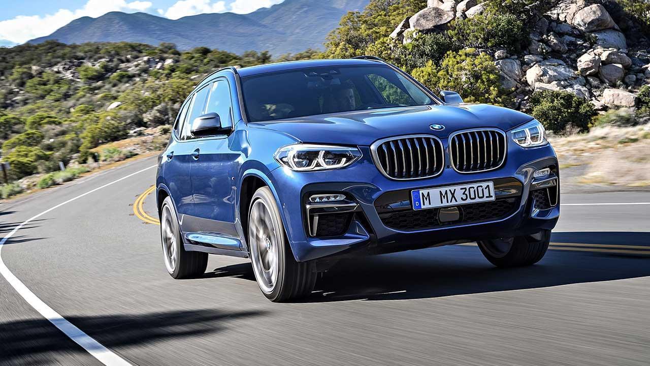 BMW X3 2017 - Frontansicht