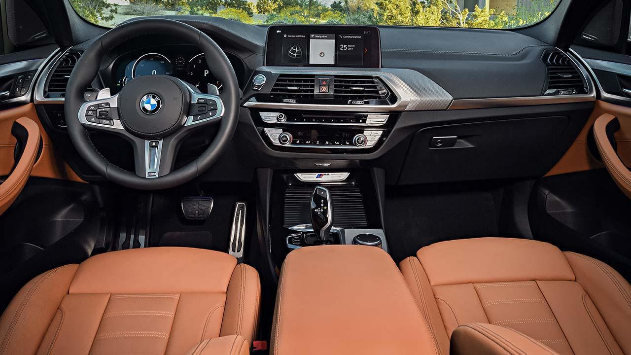 BMW X3 2017 - Cockpit