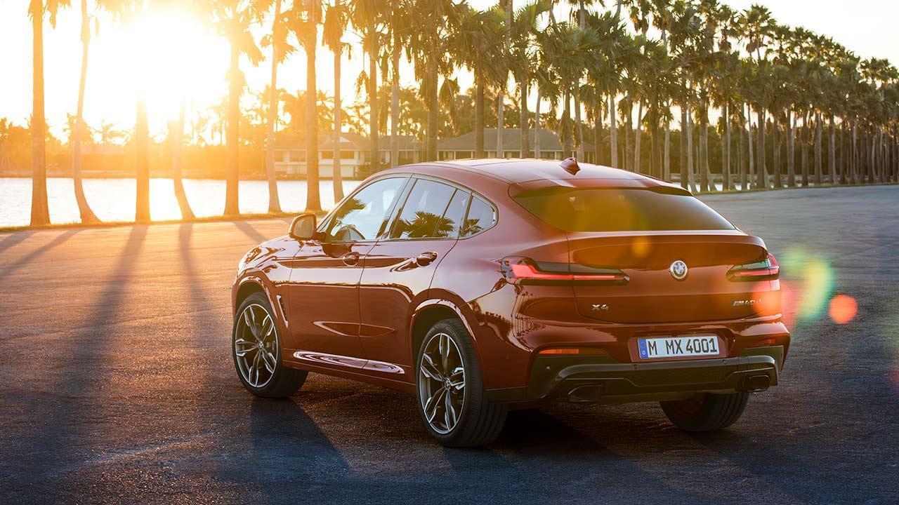 BMW X4 2018 - Rückansicht