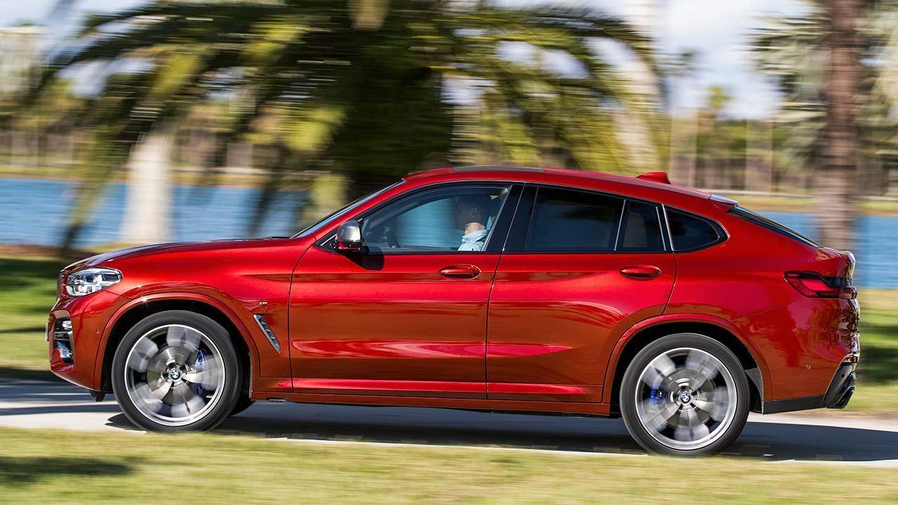 BMW X4 2018 - Seitenansicht