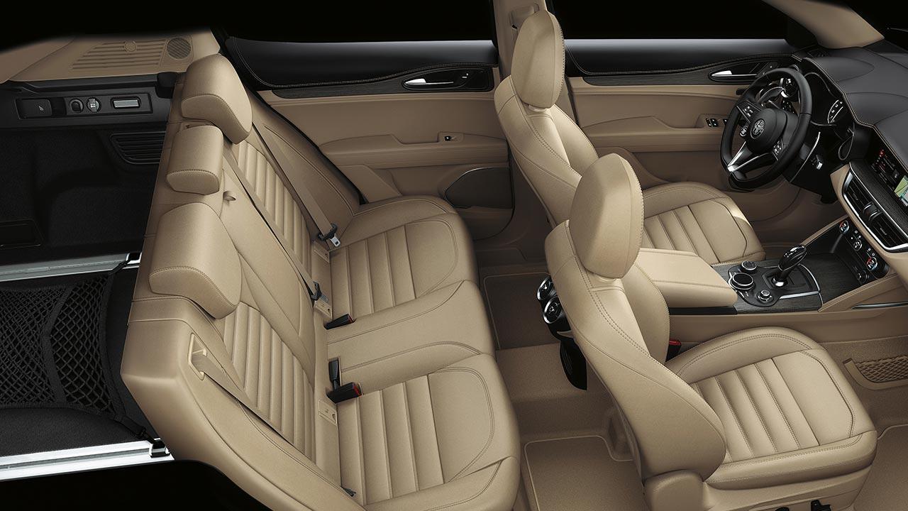 Alfa Romeo Stelvio - Innenraum