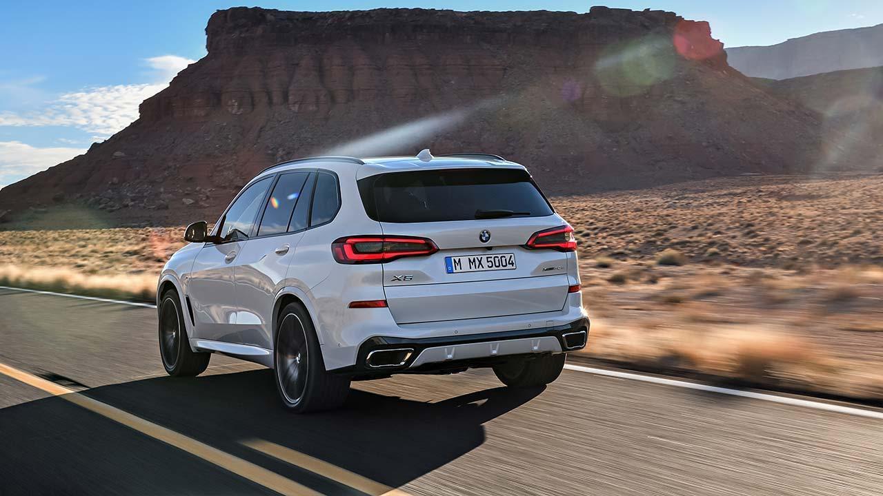 BMW X5 2018 - Heckansicht