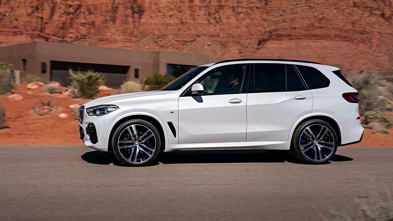 BMW X5 2018 - Seitenansicht