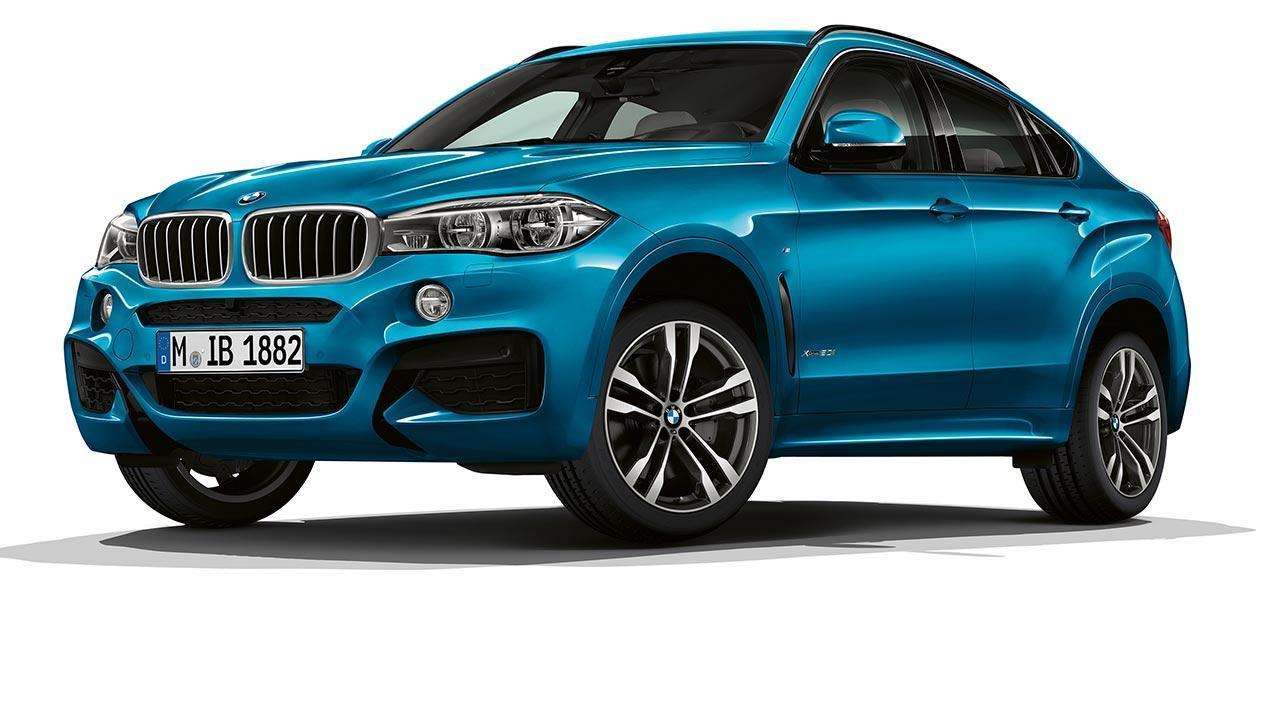 BMW X6 M Sport Edition 2017 - Frontansicht