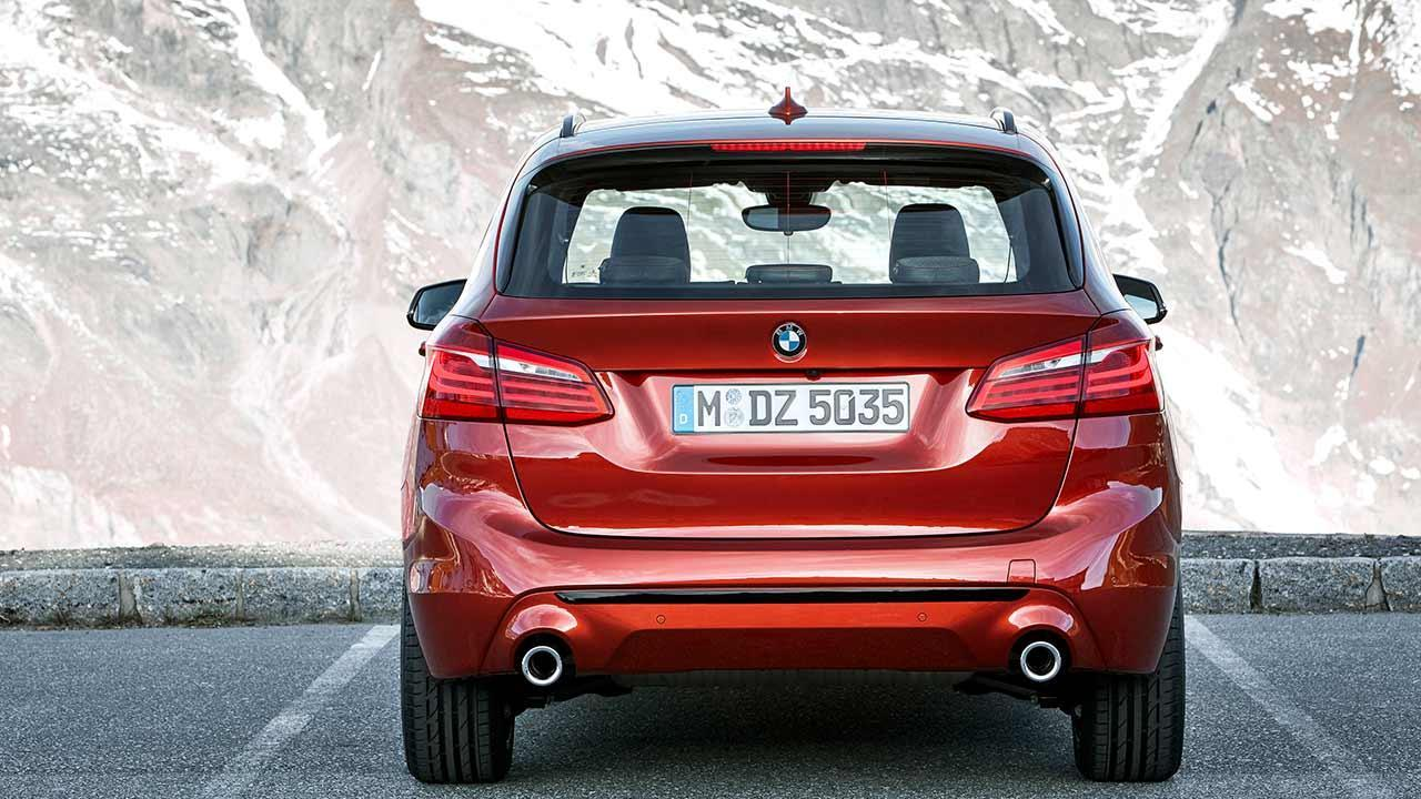BMW 2er Active Tourer 2018 - Heckansicht