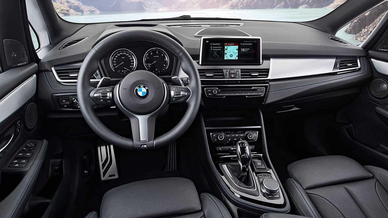 BMW 2er Gran Tourer 2018 - Cockpit