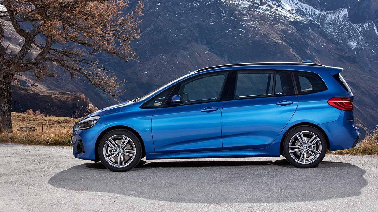 BMW 2er Gran Tourer 2018 - Seitenansicht
