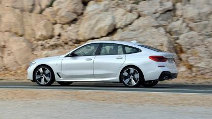 BMW 6er Gran Turismo 2017 - Seitenansicht