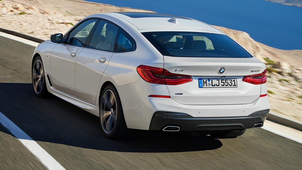 BMW 6er Gran Turismo 2017 - Heckansicht