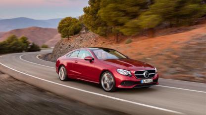 Die E-Klasse Coupé von Mercedes-Benz