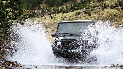 Die G-Klasse von Mercedes-Benz